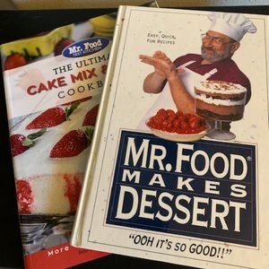 Set of Mr. Food Dessert Cookbooks
